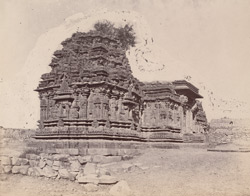 General view from the south-west of the Kashivishveshvara Temple, Lakkundi 10031970